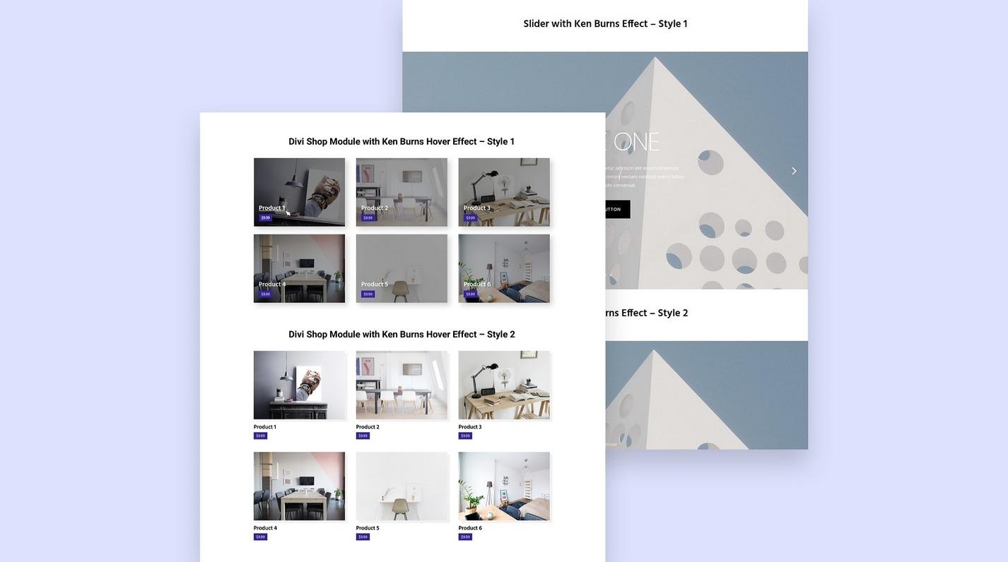 divi module layout pack