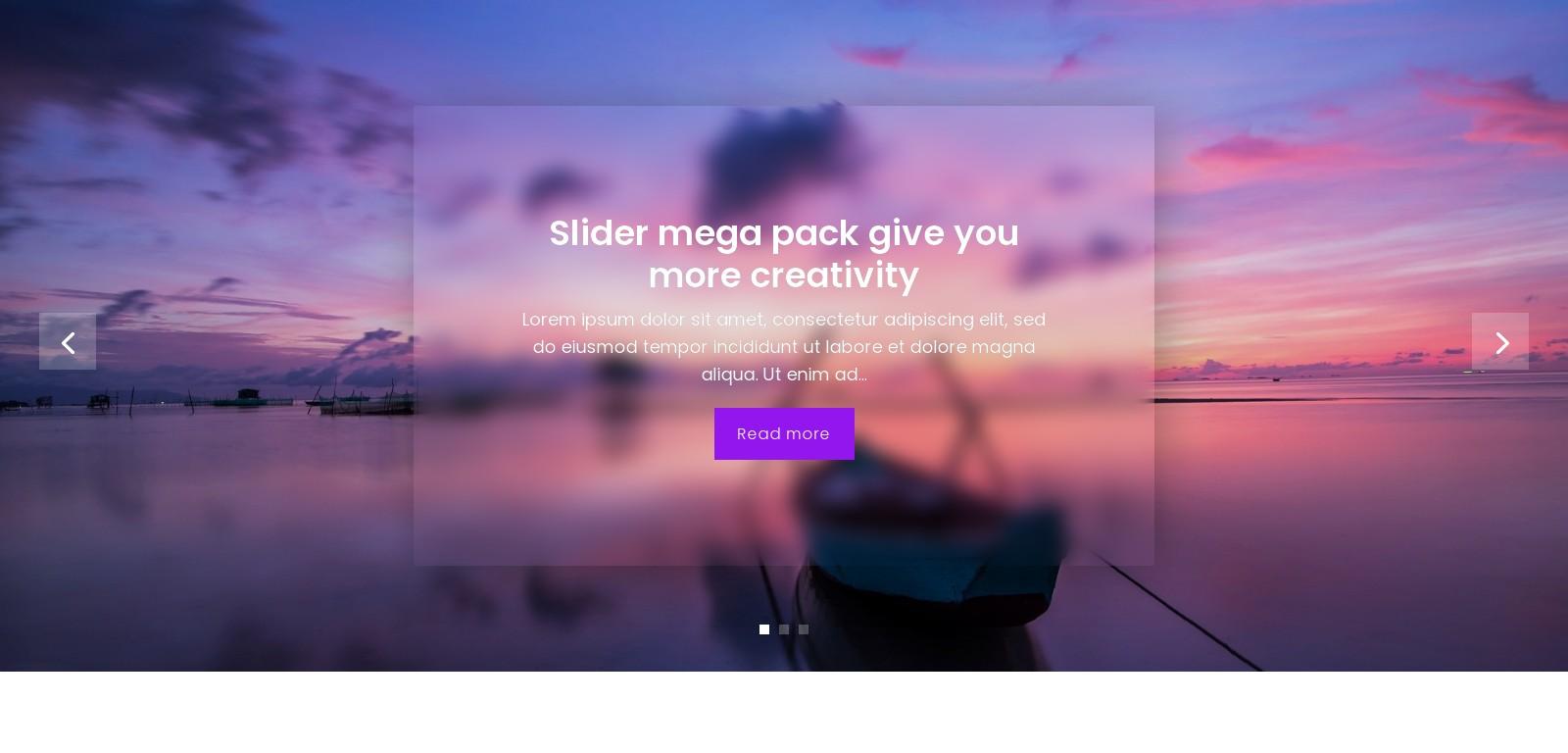 Slider Mega Pack 33 – Autoplay – Bugos