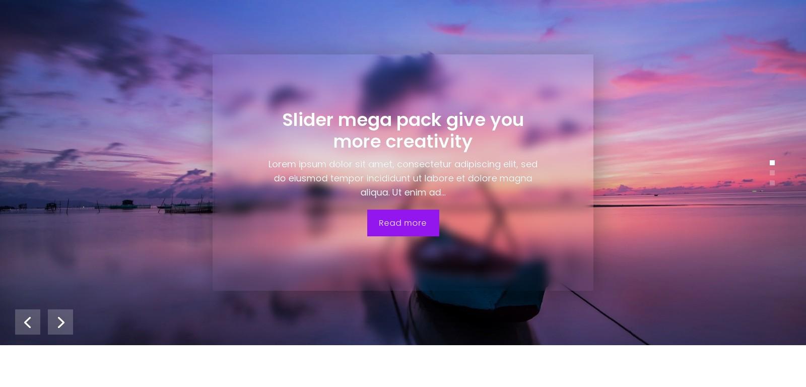 Slider Mega Pack 34 – Autoplay – Bugos